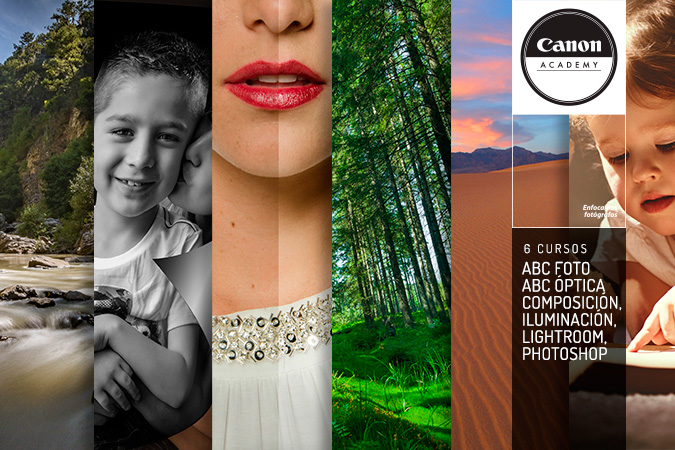 Cursos ABC de Fotogragía + ABC de Óptica + Photoshop + Lightroom + Iluminación + Composición
