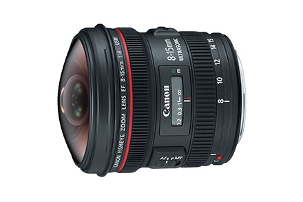 Lente EF 8-15mm f/4L Fisheye USM | Ultra Gran Angular