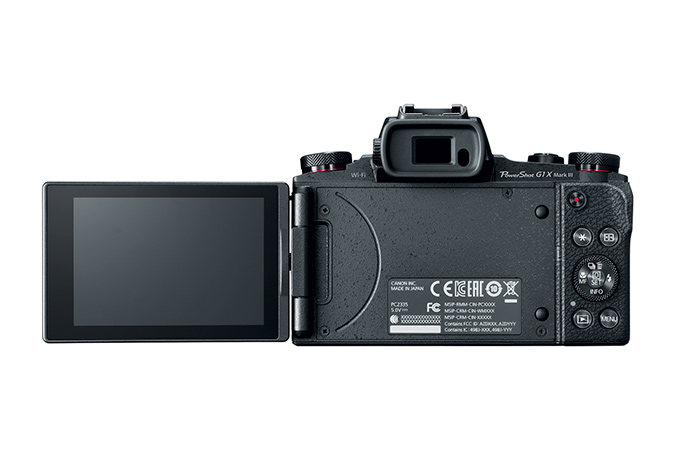PowerShot G1x Mark III view 5