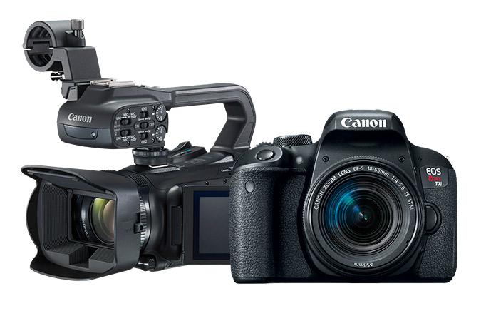 b363a20eddfad Set Videocámara XA11 c  EOS T7i Reacondicionada (lente 18-55mm) view 1 ...