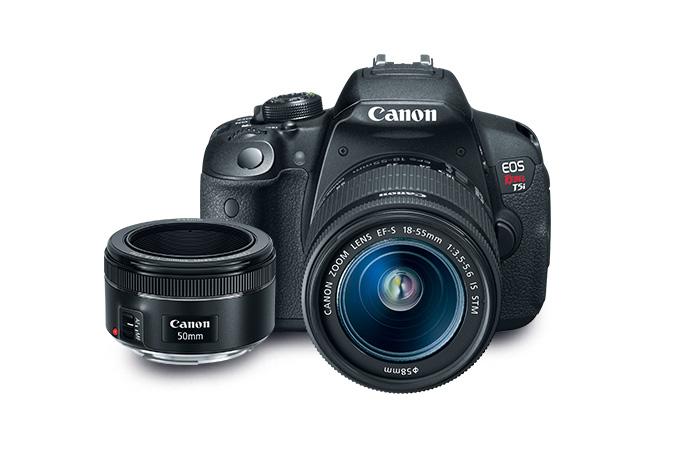 Image for EOS Rebel T5i EF 18-55 reacondicionada + EF 50 MM 1.8 STM from Canon Tienda Online