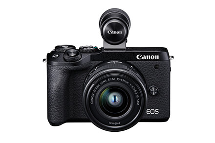 EOS M6 Mark II EF-M 15-45mm IS STM + Visor electrónico