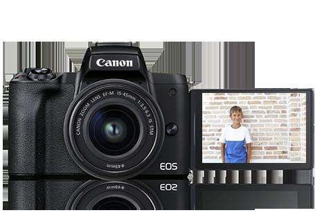 Canon M50 Modo silencioso