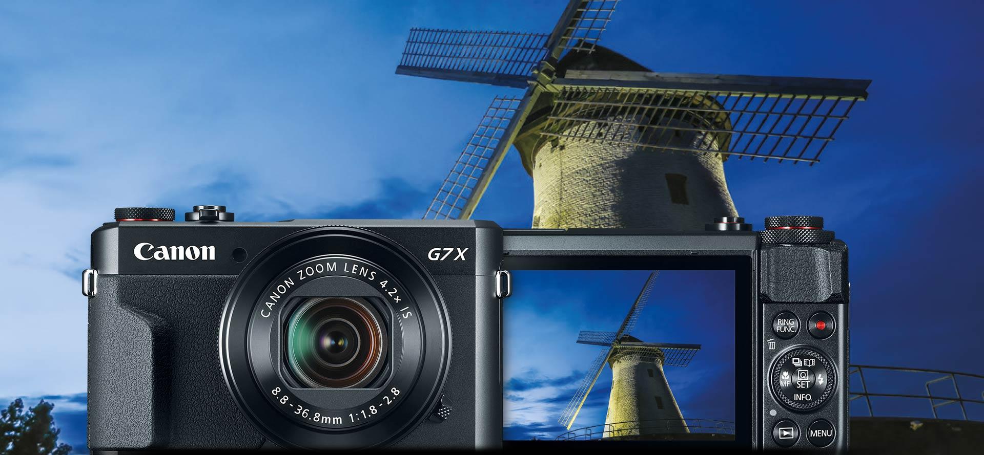 PowerShot G7 X Mark II: CREATIVIDAD SIN ESFUERZO